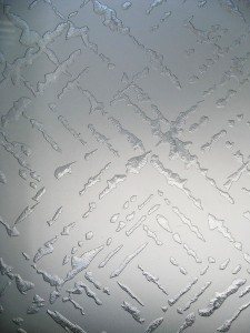 северное сияние стекло