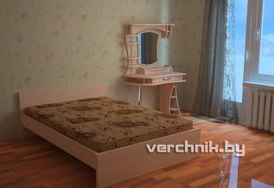 кровать + макияжный столик