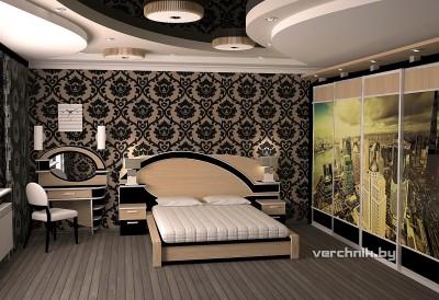 спальня со шкафом