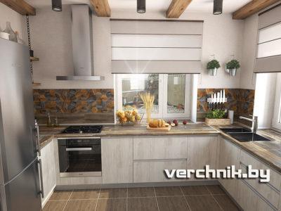 кухня в частный дом