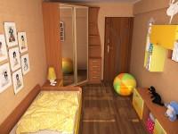 угловой шкаф в детскую