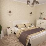 кровать и комод в спальню