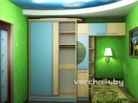 шкаф в детскую тера клен светлый
