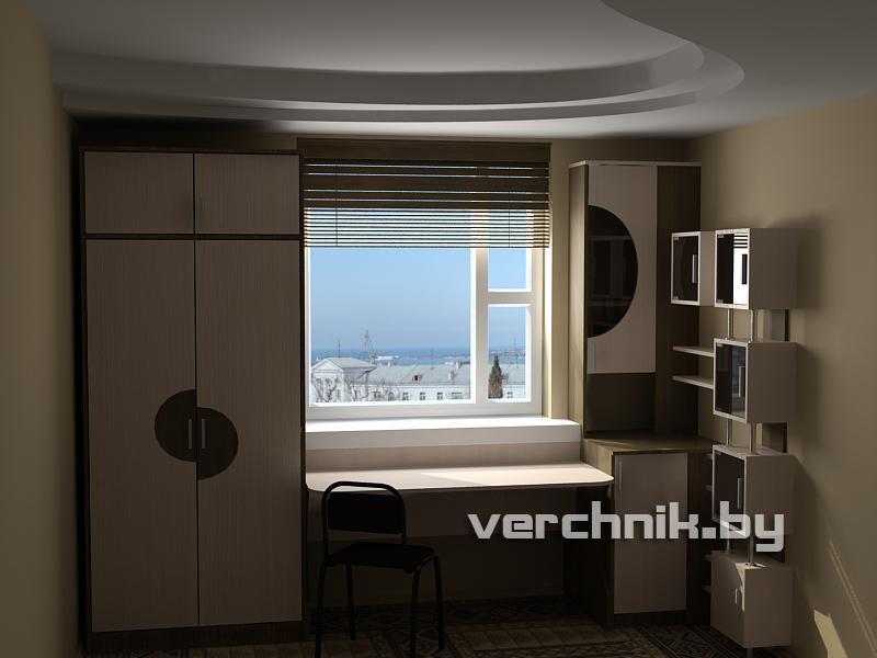 Gallery.ru / фото #23 - шкафы вокруг окна - adora12.