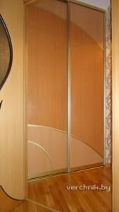 комбинированные двери-купе