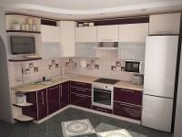 Кухня угловая 1-4
