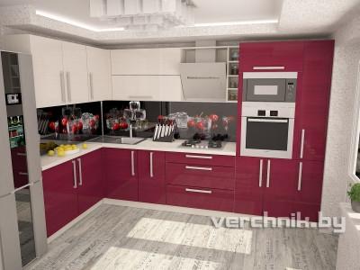 кухня с фасадами Aisik