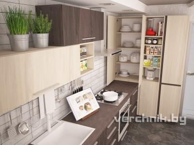кухня со шкафом