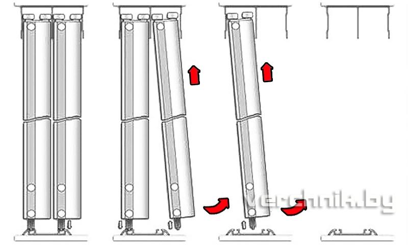 Как снять двери-купе (пособие