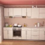 кухня с открытыми ящиками