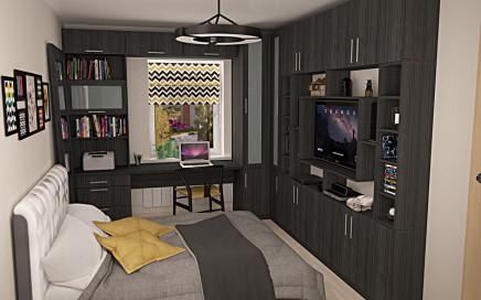 стол в спальне