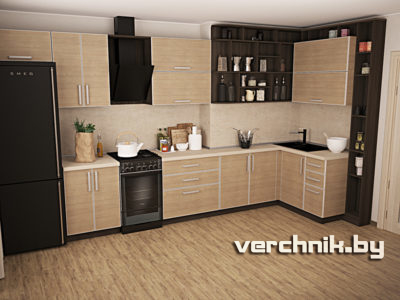 """кухня под """"дерево"""""""