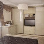 шкаф комбинированный в спальню