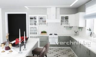 французские витрины на кухне