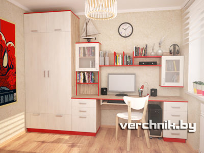 шкаф и стол для подростка