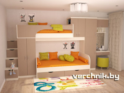 кровать двухэтажная