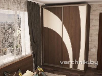 шкаф-купе комбинированный