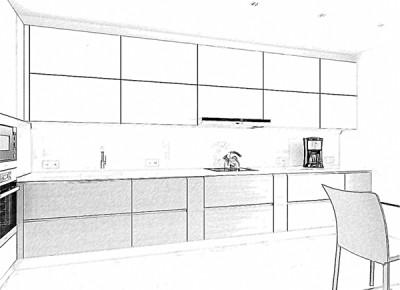Большому дому-большая кухня