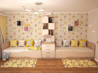 Немного мебели для детской.