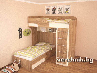 кровать с лесенкой