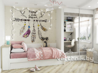 Кровать односпальная для детской