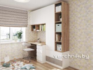 стол встроенный в стенку