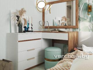 Комод со столом и зеркалом